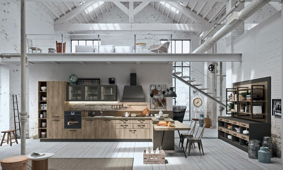 Кухня Industrial Kitchen