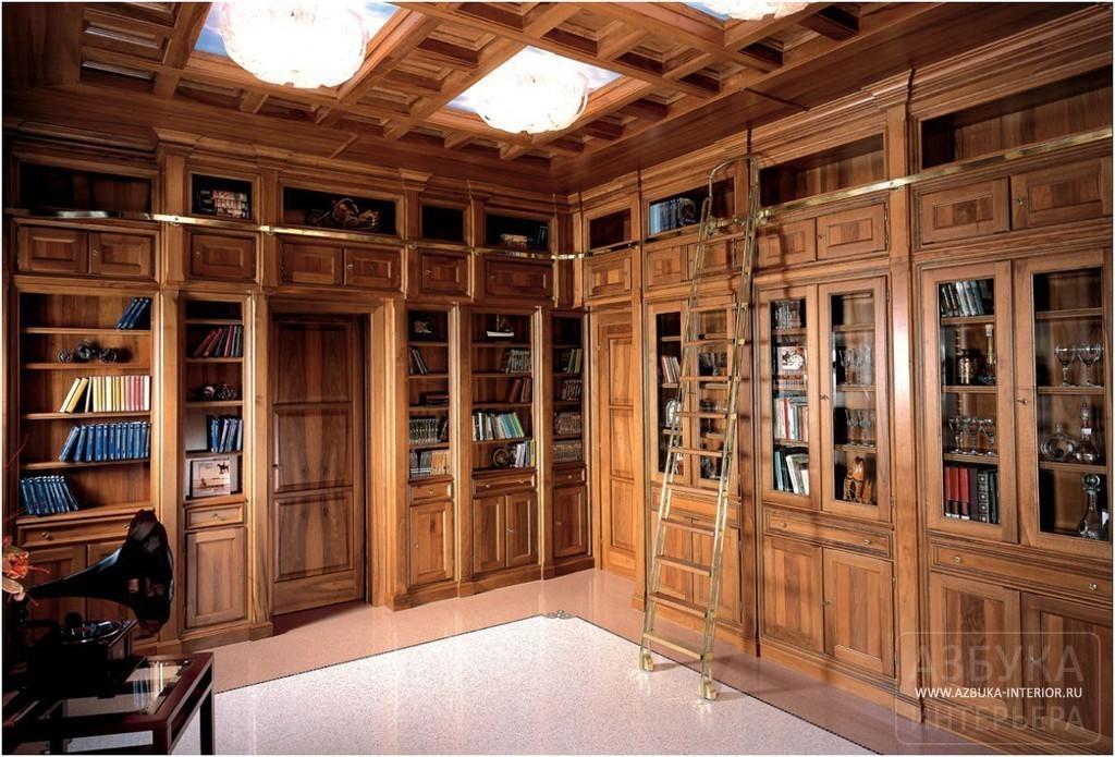 Мебель для библиотеки - фабрика cadore - коллекция living.