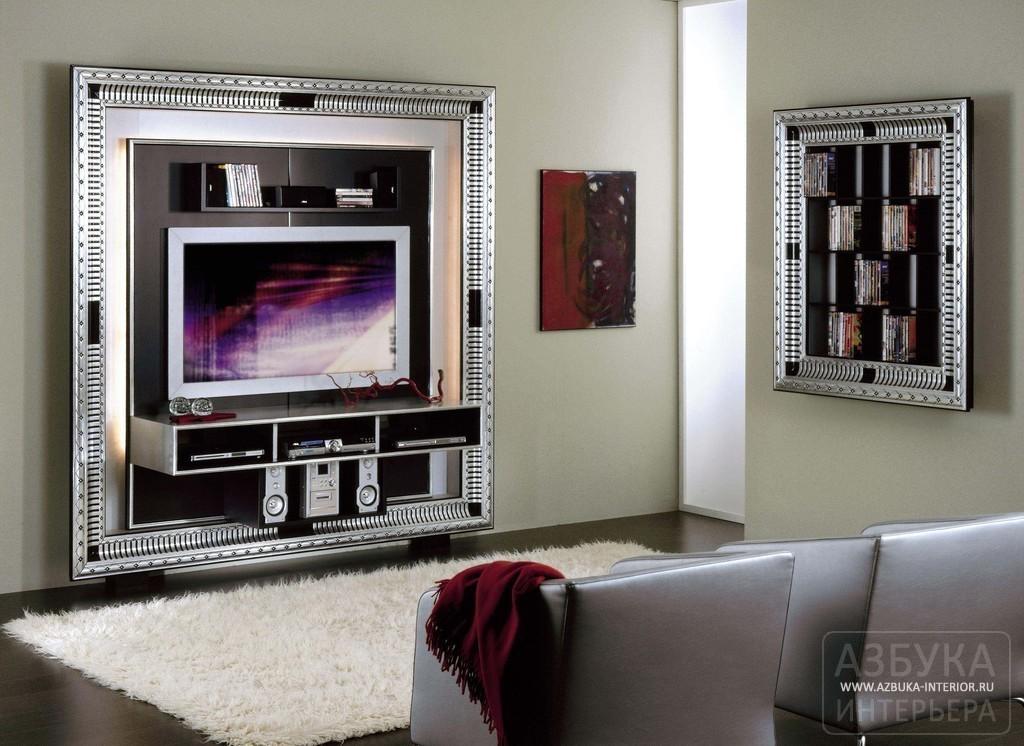 Панель стойка тв frame art deco vismara - купить по цене фаб.