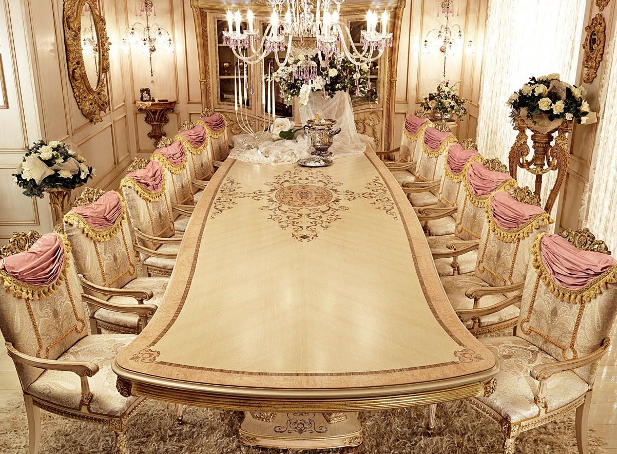 Картинки богатых столов
