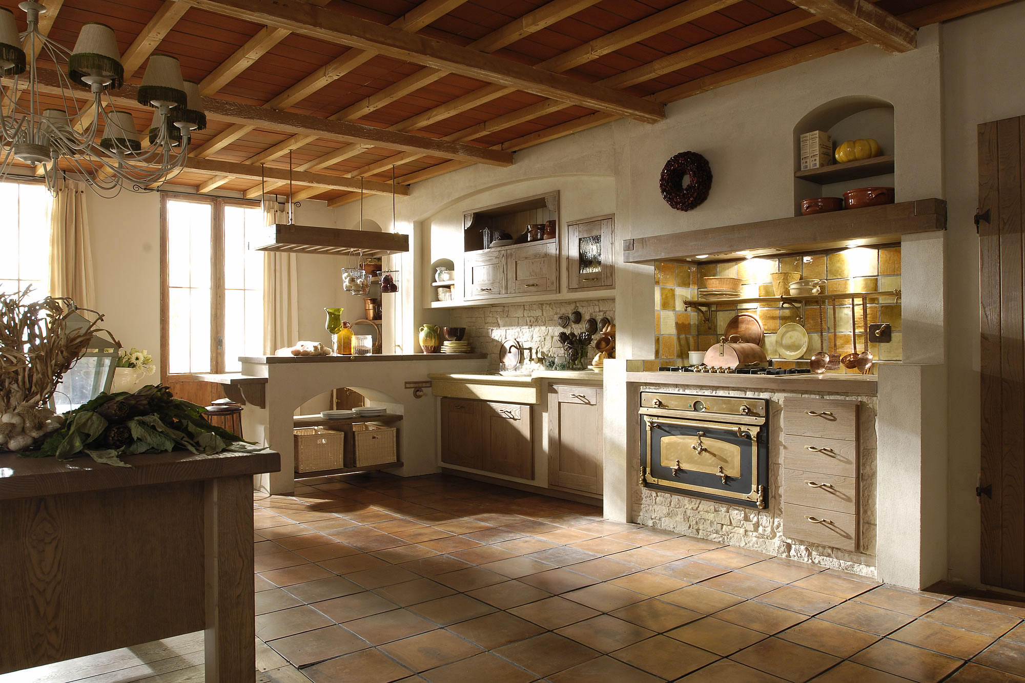Cucine country aurora