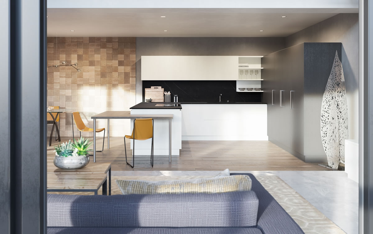 Cucine moderne lineari 2